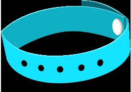 Bracelet événementiel sans marquage