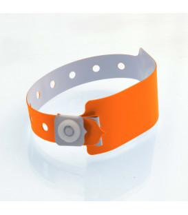 Bracelet Silicone adulte Fluo sérigraphié