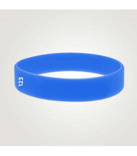 Bracelet Vinyle L19mm Translucide