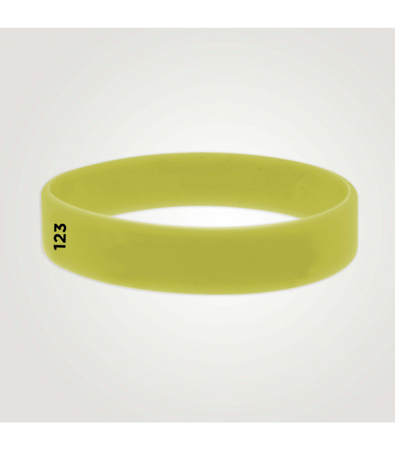 Bracelets silicone adultes - marqués