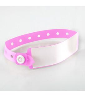 Bracelet Vinyle Fluo L19mm