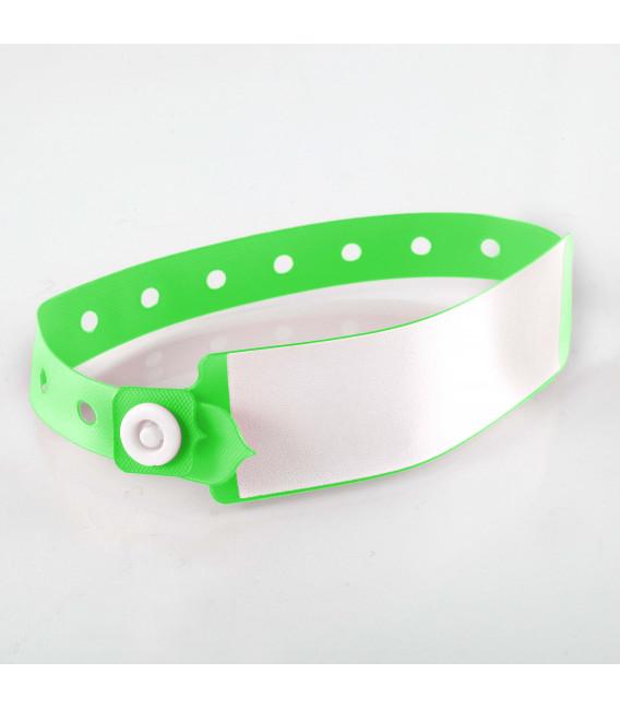 Bracelet à panneau d'écriture adulte