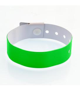Bracelet plastique Vinyle L - 19 mm - marqué