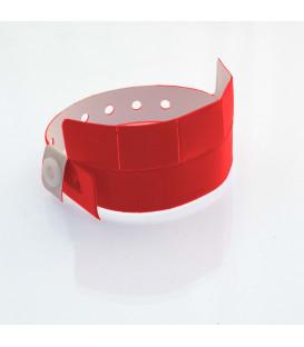 Bracelet vinyle 5 coupons - marqué