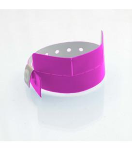 Bracelet vinyle 3 coupons - marqué