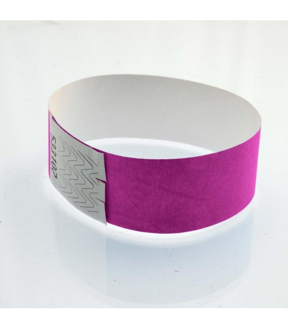 Bracelet tyvek 25 mm - marqués