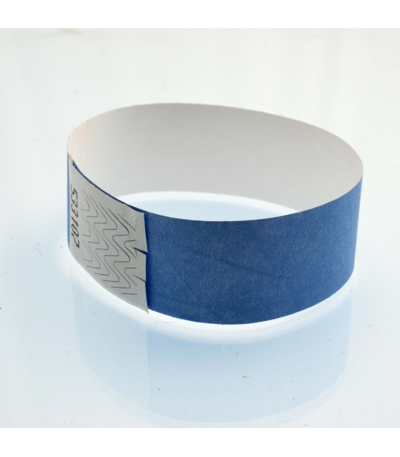 Bracelet tyvek 25 mm - vierges