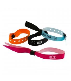 Bracelet tissu personnalisé à usage unique