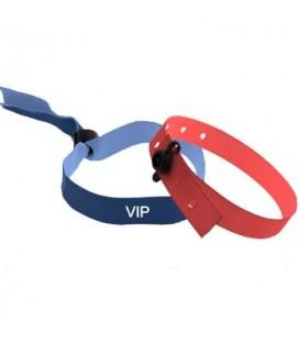 Bracelet satin personnalisé à usage unique